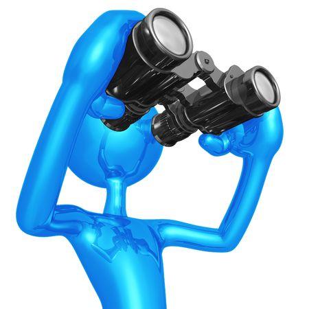 consider: Looking Through Binoculars