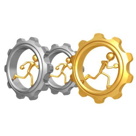 race winner: Gear Runner Race