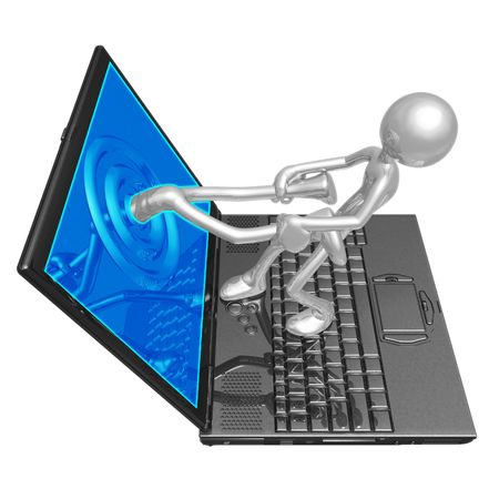 Internet Rescue Stock Photo - 4365129