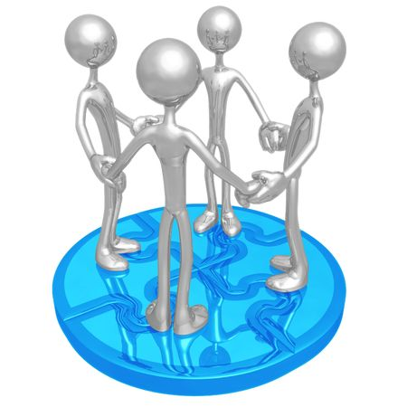 Puzzle Unity photo