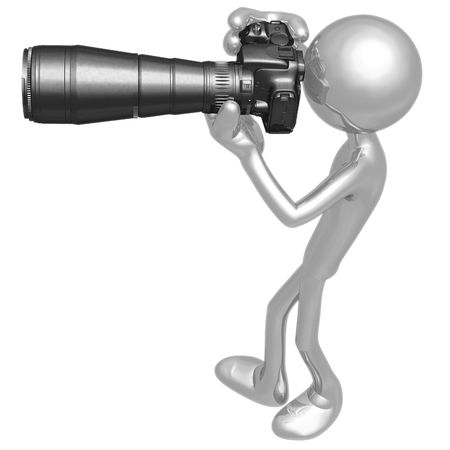 human photography: Photographer Stock Photo