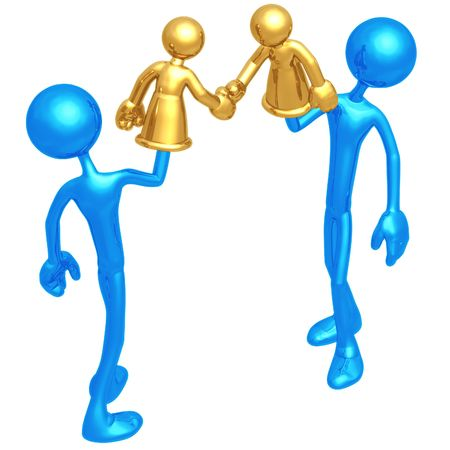 negotiator: Handshake Hand Puppet