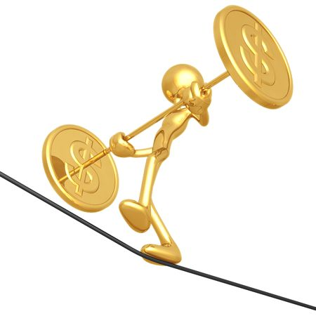 tightrope walker: Tightrope Dollar