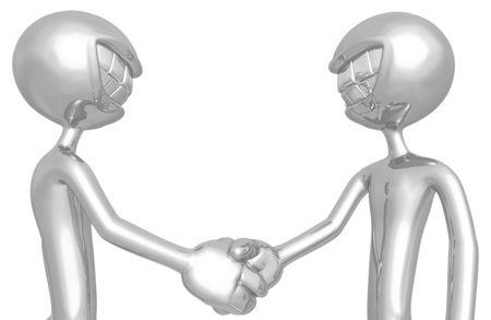 handclasp: Handshake Partnership Agreement