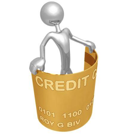 Flexible Credit Stock Photo - 4380151