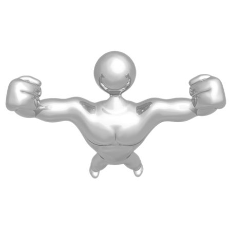 Strong Man Body Builder Stock Photo - 4380073