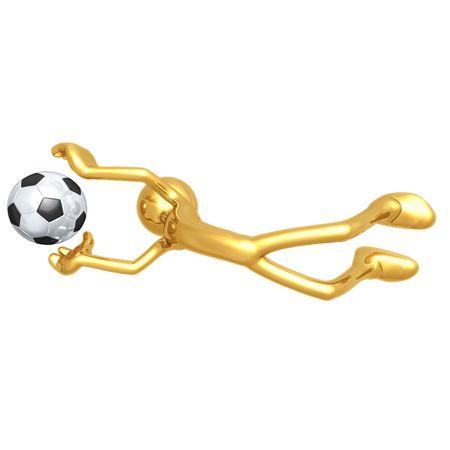 interception: Soccer Football