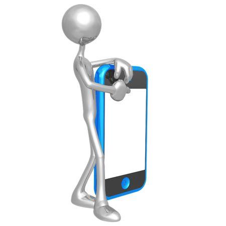 cellphone: Touch Screen Cellphone Presenter
