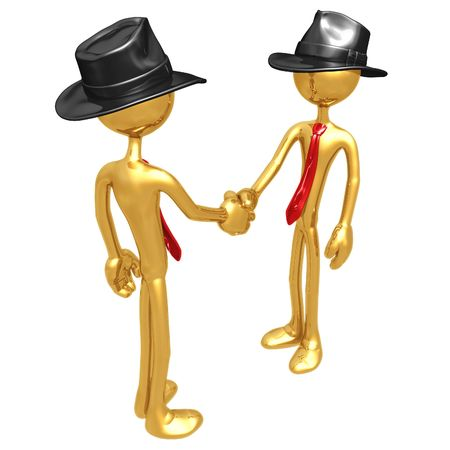 Businessmen Shaking Hands Stock Photo - 4387912