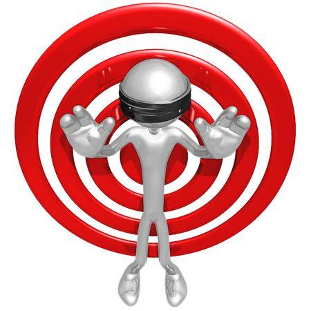 pleading: Pleading Target Stock Photo