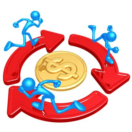 competitions: Running Around A Dollar Coin