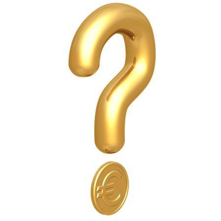 interrogation point: Question Mark Euro