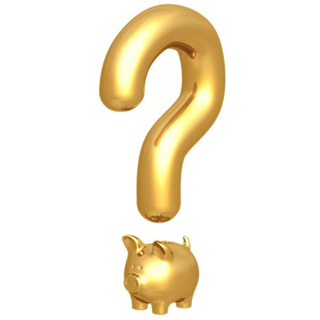 controversy: Question Mark Savings Stock Photo