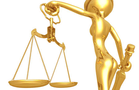 Lady Justice Stock Photo - 4397850