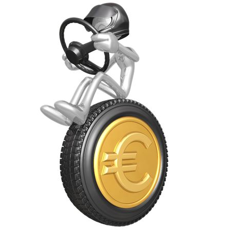 Euro Coin Currency Racer photo