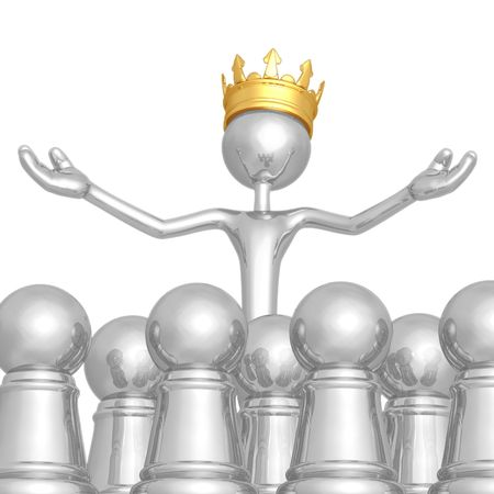 sovereign: King Among Pawns Stock Photo