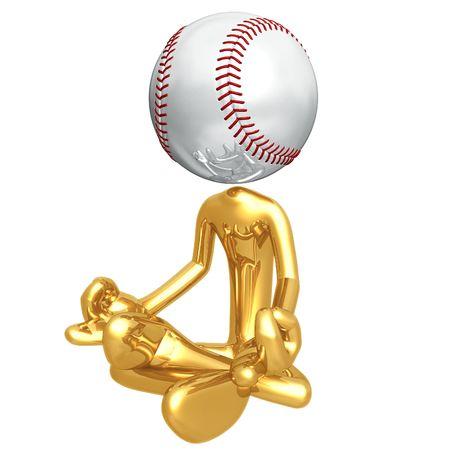 guru: Baseball Guru Stock Photo