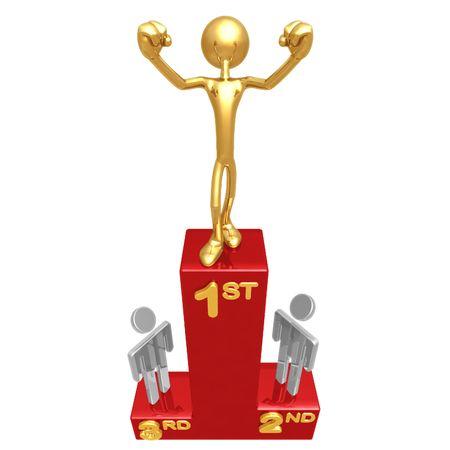 dais: Victory Podium