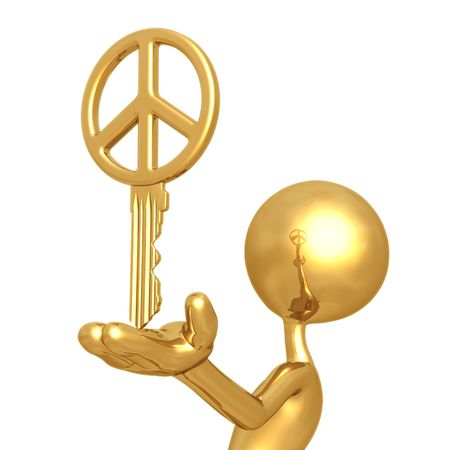 Golden Peace Key photo