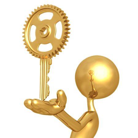 Golden Gear Key photo