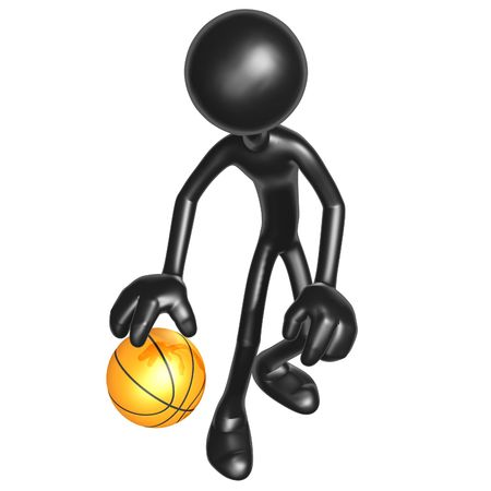 dribbling: Basketball Dribble