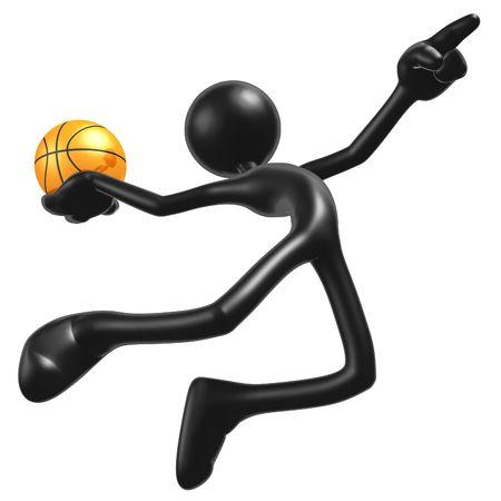 Basketball Calling The Shot Slam photo