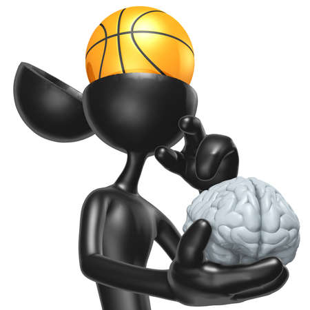Basketball Mind Stock Photo