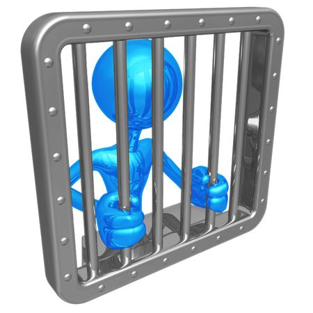 Jail Time Stock Photo - 4412407