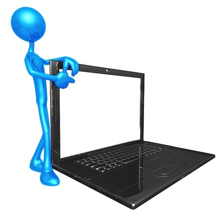 Laptop Stock Photo - 4412313