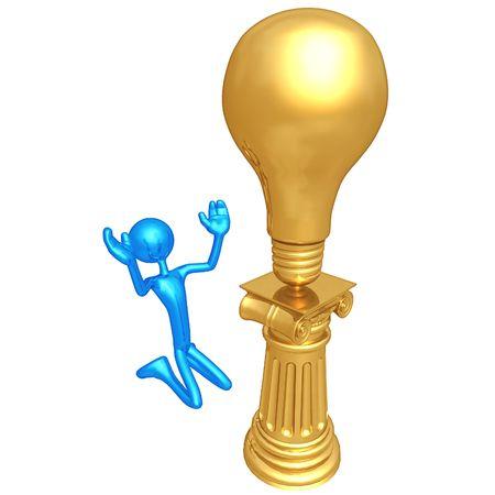 idolatry: Big Idea Idol Stock Photo