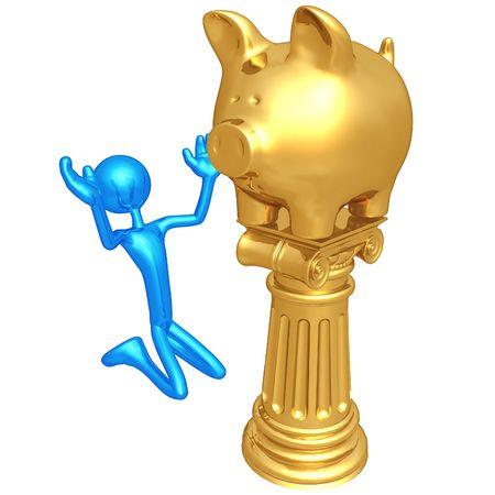 idolatry: Piggy Bank Idol