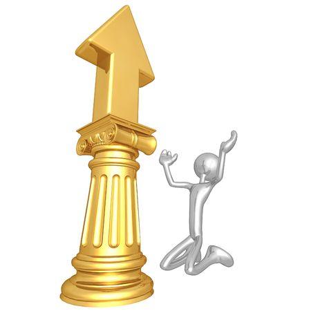 idolatry: Upward Arrow Idol