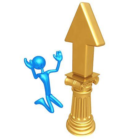 Upward Arrow Idol