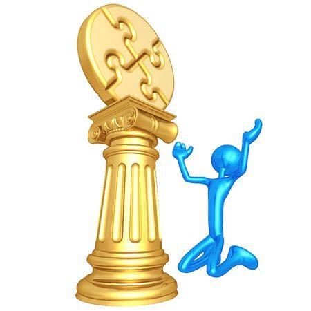 Puzzle Idol Stock Photo - 4429183