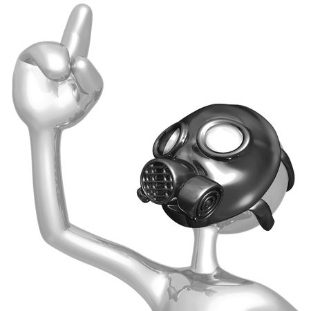 Gas Mask Eureka! photo