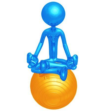 Yoga Pilates Physio Ball photo