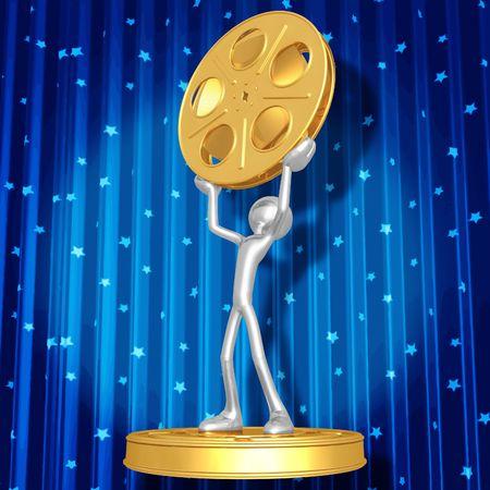 Film Award Ceremony Stock Photo - 4429491