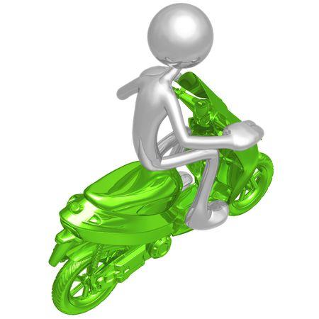 Moped photo