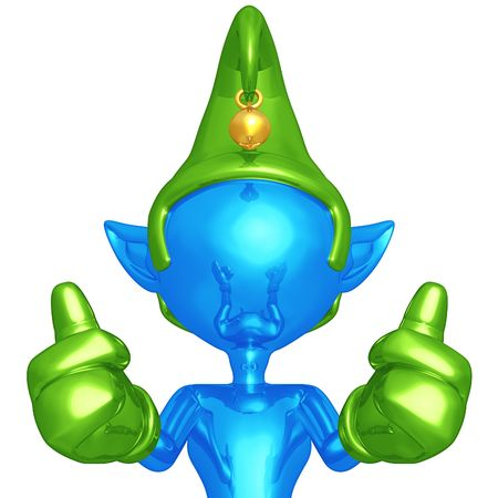 helpers: Elf Thumbs Up