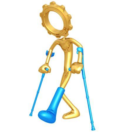 compensation:  Injured Gear Person
