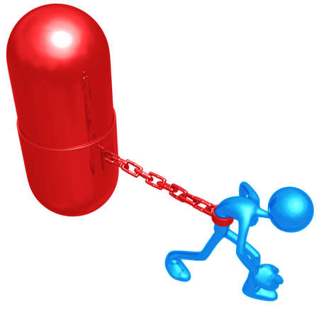 addiction: Chained To Giant Pill