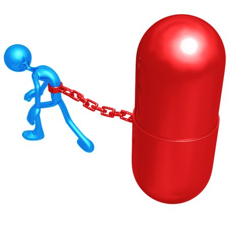 habitual: Chained To Giant Pill