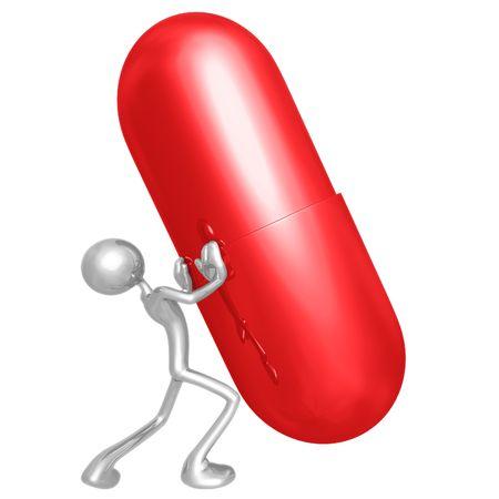 habitual: Pushing Giant Pill