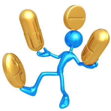 Balancing Medication photo