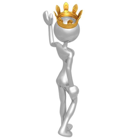 Queen Waving photo