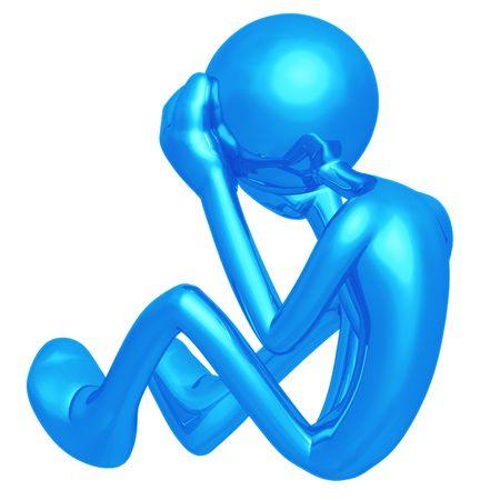 distraught: Depressed
