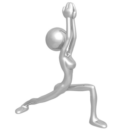 contortion: Yoga Stock Photo