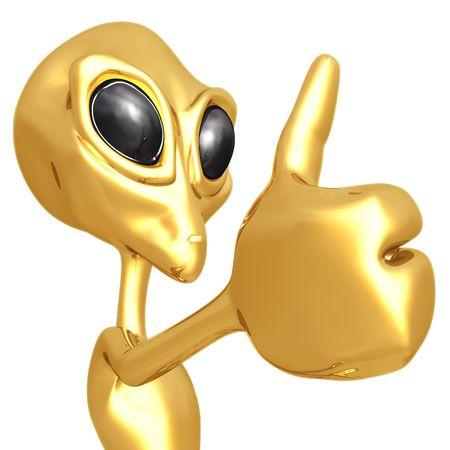 martian: Alien Thumbs Up