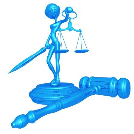 dama justicia: Justicia de Lady Foto de archivo