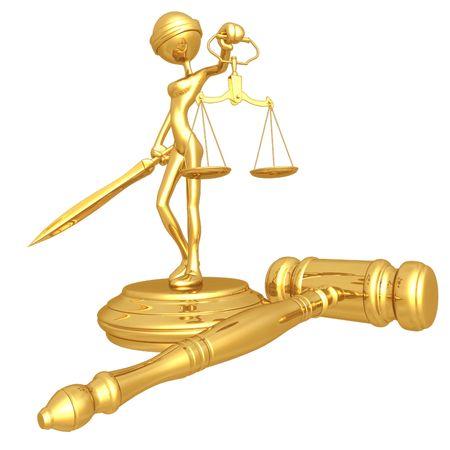 derecho romano: Se�ora Justicia